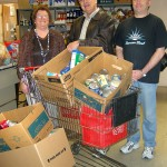 OCES Staff Hold Food Drive for The Charity Guild