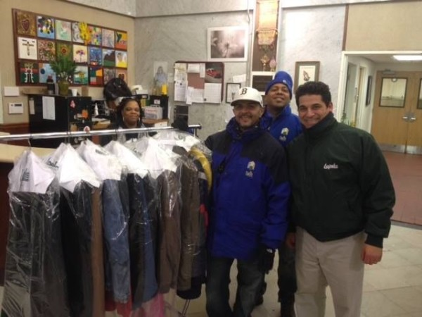 Scott Goddess (right) of Lapels Dry Cleaning of Boston Seaport.