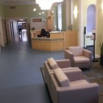 Marion, Mass.-based South Coast Improvement, Co. recently complete project in the reception area of Franciscan Hospital in Boston, MA.