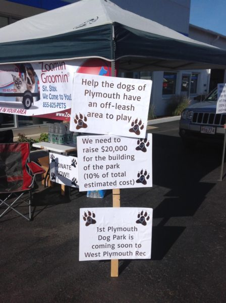 Tracy Chevrolet Cadillac hosted a Groom-a-Thon to benefit the Friends of Plymouth Dog Park, a local non-profit looking to raise funds to construct a Dog Park in West Plymouth. The fundraiser raised more than $600.