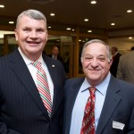 Quincy City Council President Michael E. McFarland with Paul N. Barbadoro, Esq., Partner at Baker, Braverman & Barbadoro.