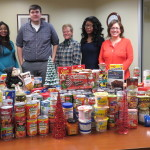 OCES Holds Food Drive for Three Charities