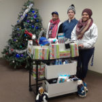Old Colony Elder Services' employees hold drive to help those in need in Brockton and Plymouth