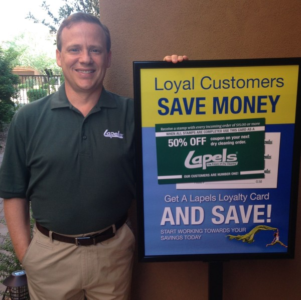 photo of Shane Kelly, owner of Lapels Dry Cleaning of Phoenix