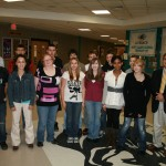 Tracy Driven Student award goes South…Tracy Chevrolet Cadillac recognizes Plymouth South freshmen.