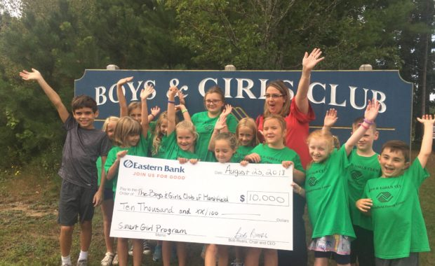 Boys and Girls Club of Marshfield Receives $10,000 Targeted Grant