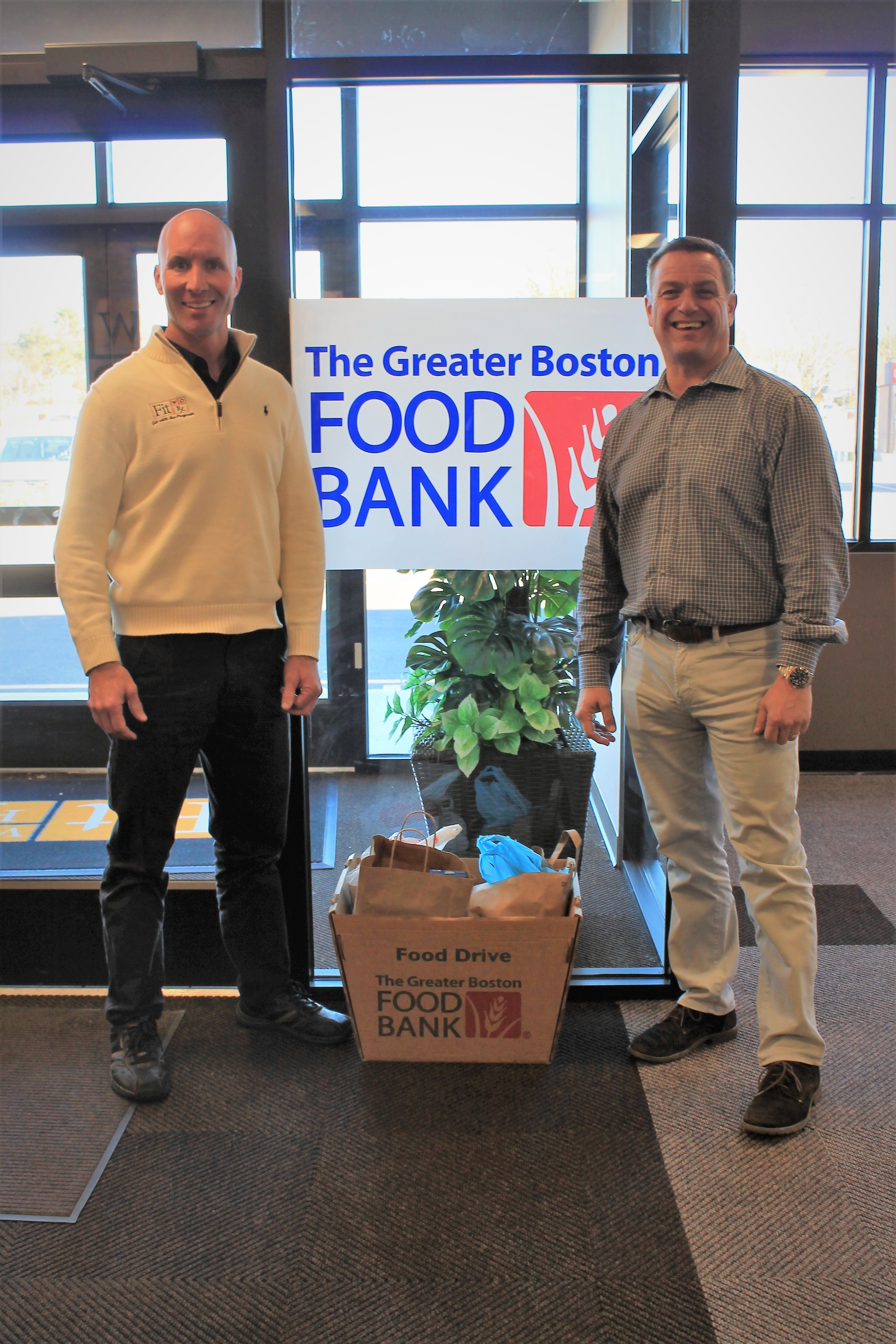 FitWorx Donates 400 Pounds of Food to Greater Boston Food Bank