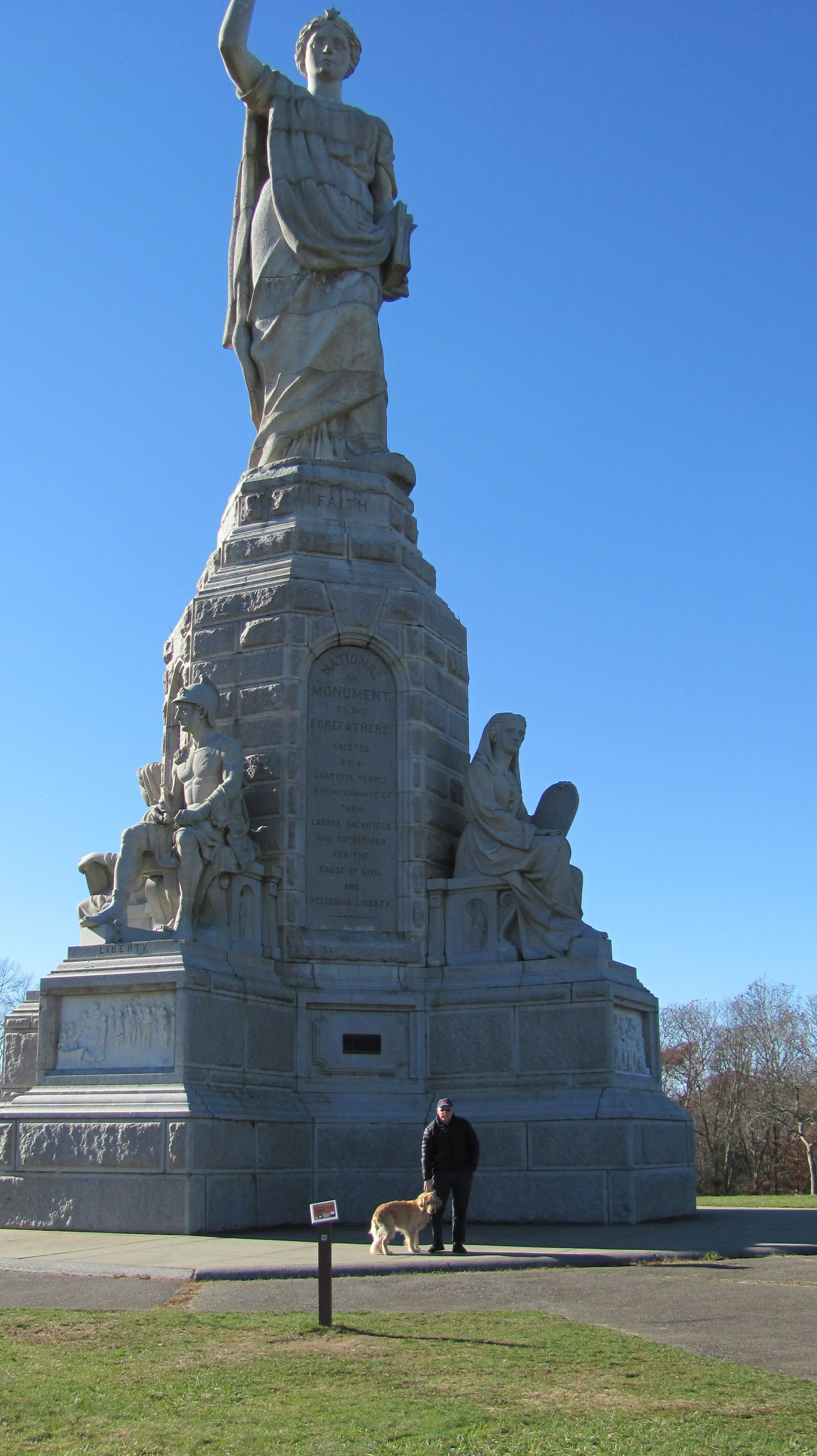 Plymouth Turkey Trot features the least visited most important monument—National Monument to the Forefathers