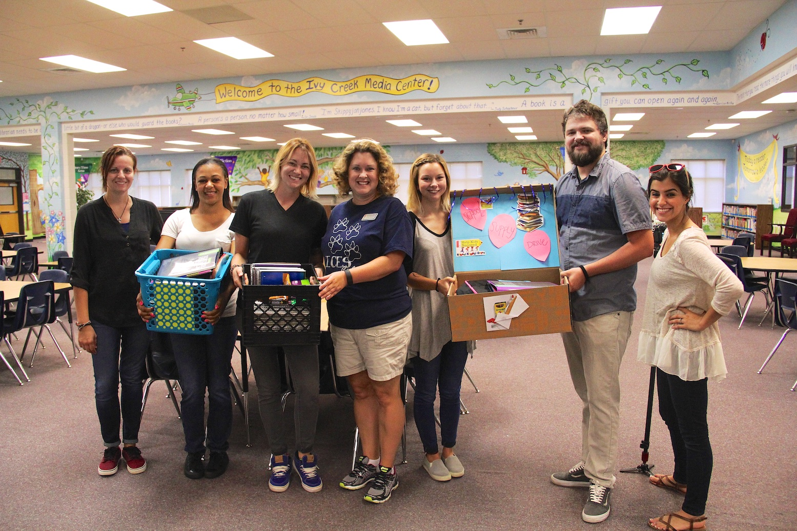 It's Elementary. Voice4Nations' School Supply Drive Benefits Families in Need