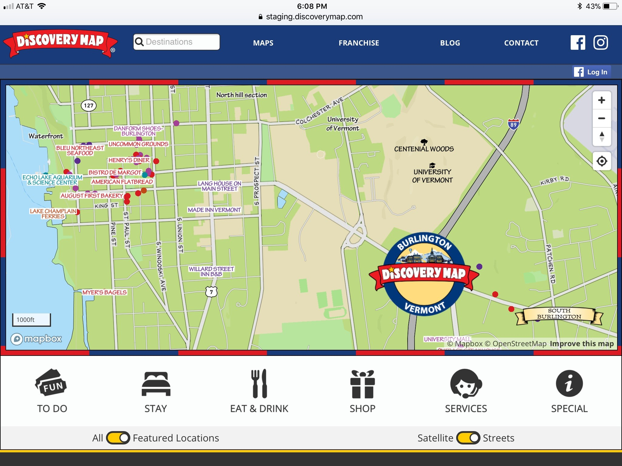 Discovery Maps tips the scale to greater user experience with upgrade to scale map on website