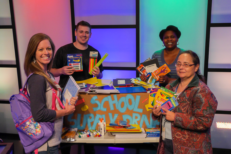 Voice4Nations' School Supply Drive Levels the Playing Field for Kids In Need