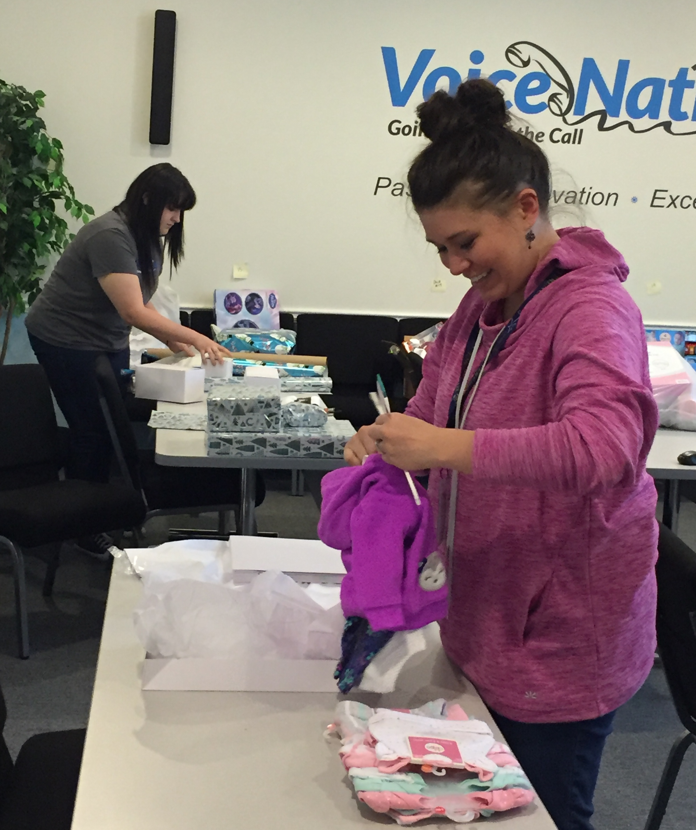 "Dozens of families benefit from VoiceNation's ""Operation Give Back"""