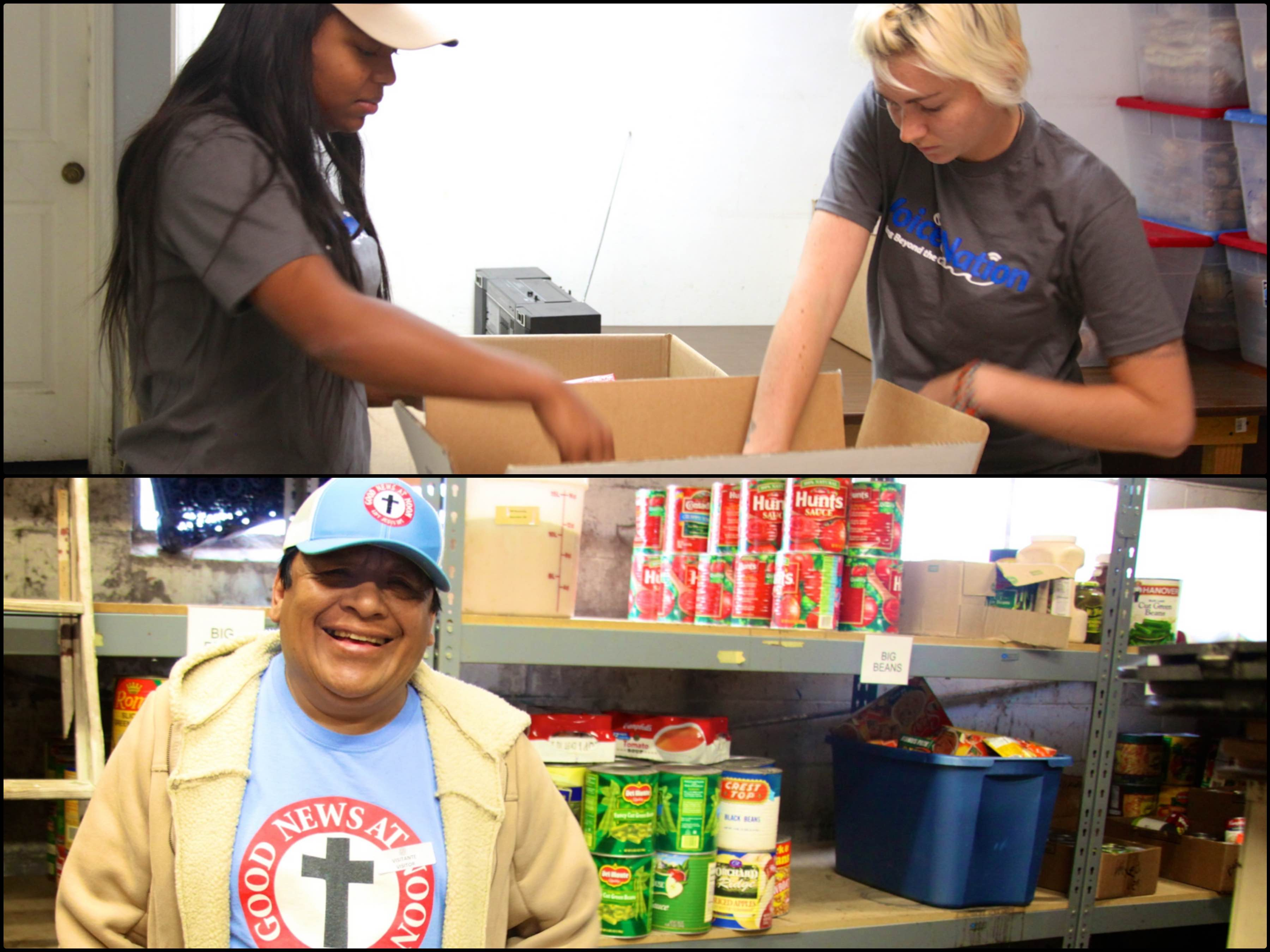 Good News At Noon Homeless Shelter Receives Donation from Voice4Nations