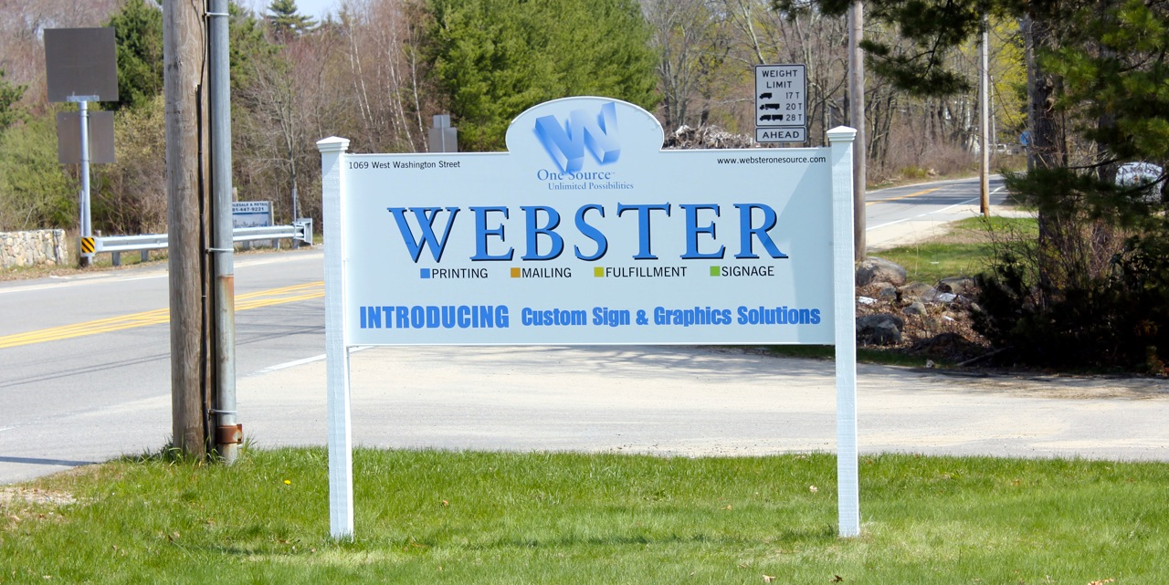 Webster One Source Introduces Custom Signs and Graphic Solutions